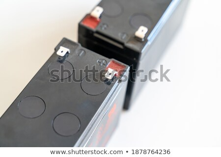 Replacing Backup Home System Battery  Stock photo © tab62