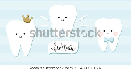 tooth, vector image Stock photo © perysty