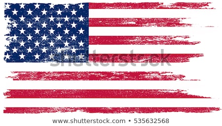 Grunge USA zászló öreg klasszikus amerikai Stock fotó © Lightsource