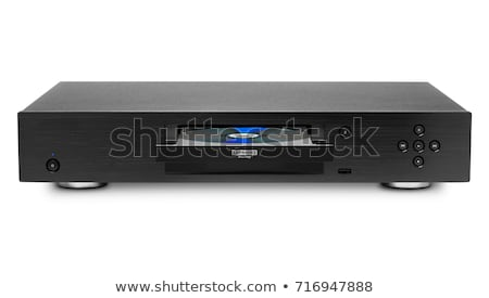 blu ray player with inserted disc stock photo © simpson33