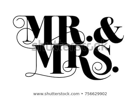 Düğün detay süslemeleri sevmek Stok fotoğraf © KMWPhotography