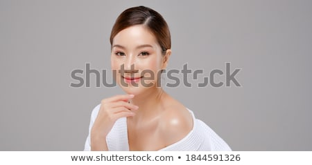 woman bathing in spa with color therapy stock photo © kzenon