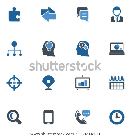 negócio · financiar · cronometragem · ilustração · projeto · branco - foto stock © tashatuvango