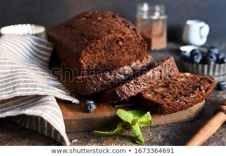 Kek bal ad bronzlaşmış adam mutfak Stok fotoğraf © artlens