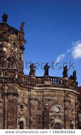 Detail of Hofkirche Dresden Stock photo © w20er