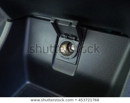 Coche cigarrillo encendedor blanco luz metal Foto stock © simpson33