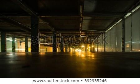 parking garage by night stock photo © meinzahn