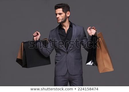 ゴージャス 買い物客 エレガントな 小さな セクシー 楽しい ストックフォト © lithian