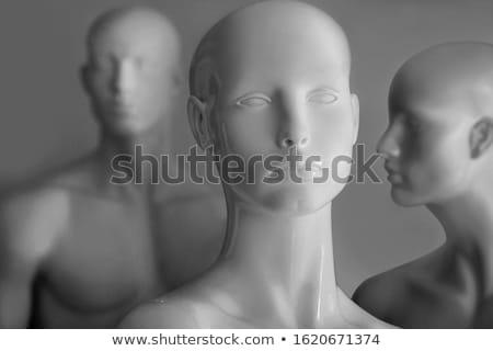 Mannequin vie plastique industrie concrètes Homme Photo stock © ChilliProductions