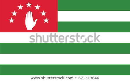 Flag of Abkhazia Stock photo © creisinger