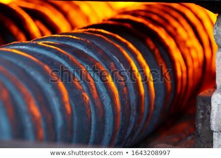 acero · industria · fábrica · planta · abandonado - foto stock © mady70