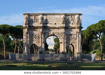 ősi szobor Colosseum múzeum Olaszország Róma Stock fotó © Nejron