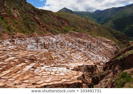 inca · geleneksel · tuz · mayın · alan - stok fotoğraf © xura