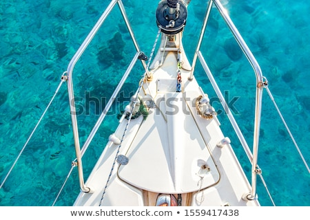 bow anchor winch stock photo © mady70