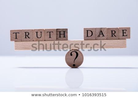 Truth Or Dare? Stock photo © 3mc