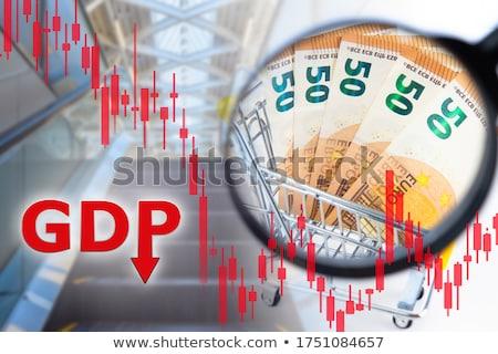 inflação · para · cima · placa · sinalizadora · tendência · negócio - foto stock © stevanovicigor