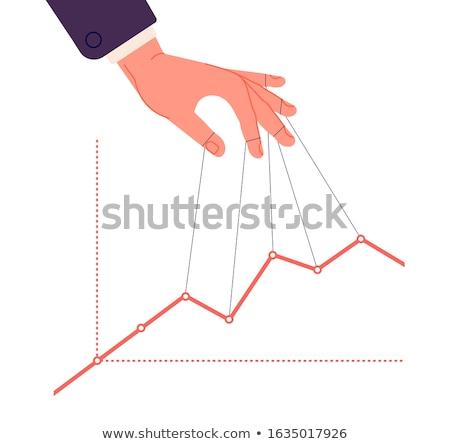 Manipuláció pénz jogi illegális közelkép üzlet Stock fotó © OleksandrO