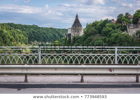 Potter Tower in the Ancient City of Kamyanets-Podilsky Stock photo © maxpro
