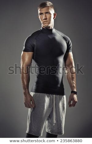 Portrait musculaire jeunes Guy jeune homme sexy Photo stock © majdansky
