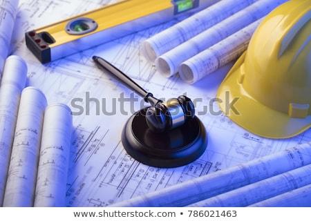 Zdjęcia stock: Budowy · prawa · sprawiedliwości · skali · pracy · budynku