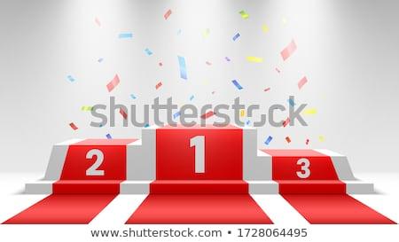 winning podium stock photo © tilo