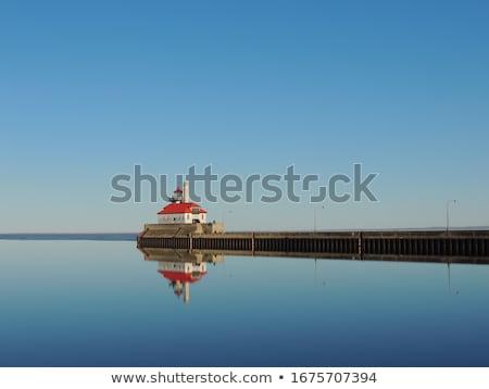 Duluth Harbor South Breakwater Outer Lighthouse Stock photo © benkrut