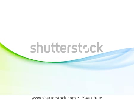 green gradient abstract line curve background Stock photo © Kheat