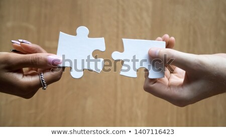 B2B - Jigsaw Puzzle with Missing Pieces. Stock photo © tashatuvango