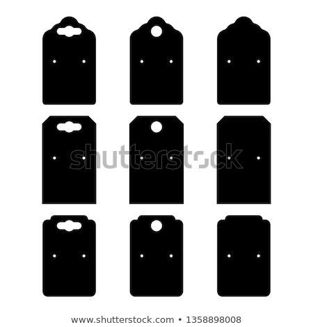 Fülbevalók kirakat keret divat belső klasszikus Stock fotó © Sarkao