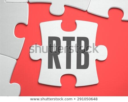 RTB - Puzzle on the Place of Missing Pieces. Stock photo © tashatuvango