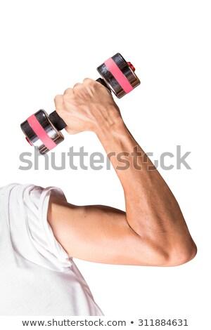Forte mão estilizado assinar treinamento Foto stock © tracer