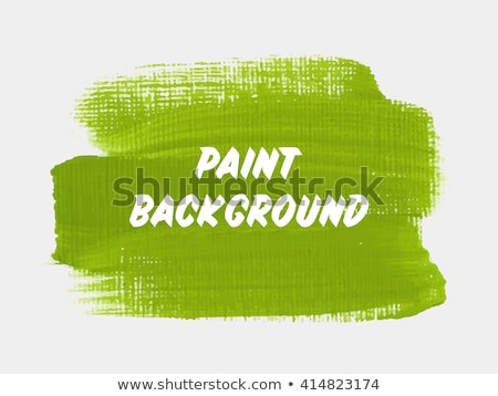 Paint brush verde vetor ícone projeto digital Foto stock © rizwanali3d