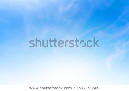 Blue sky background border Stock photo © Anna_Om