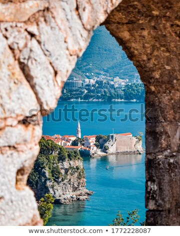 Budva old town view Stock photo © Steffus
