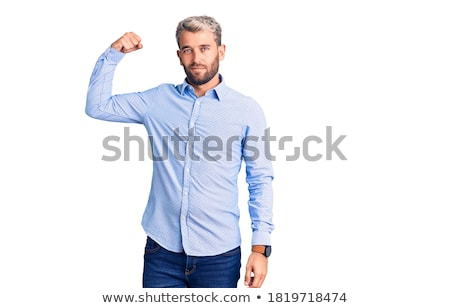 élégante jeunes élégant bodybuilder homme vêtements Photo stock © zurijeta