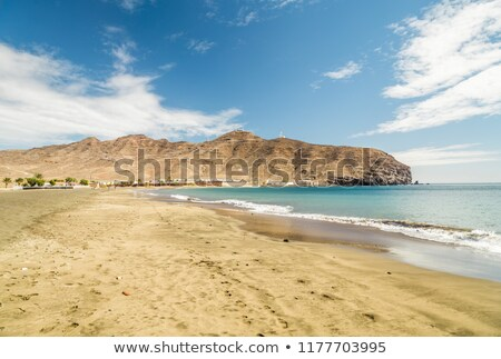 Gran Tarajal beach Fuerteventura Canary Islands Stock photo © lunamarina