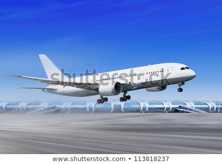 landing away from airport Stock photo © ssuaphoto