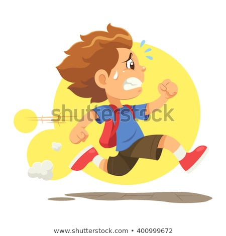 A boy in a hurry Stock photo © bluering