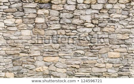Doku çakıl beton duvar model gri Stok fotoğraf © inxti