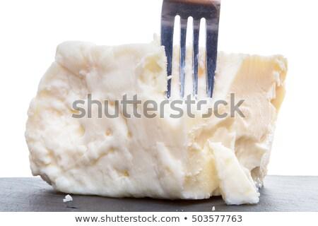 Feta villa tele krém fetasajt tehén Stock fotó © ozgur