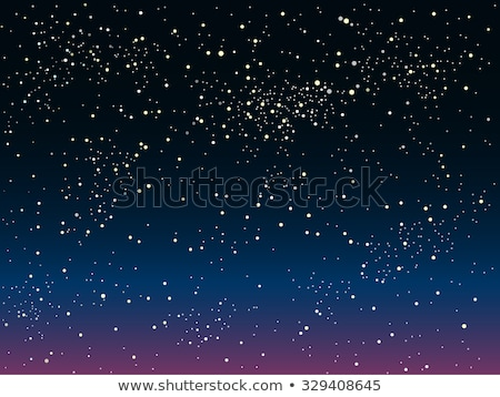 Holidays wallpaper with starry night sky, vector illustration Stock photo © carodi