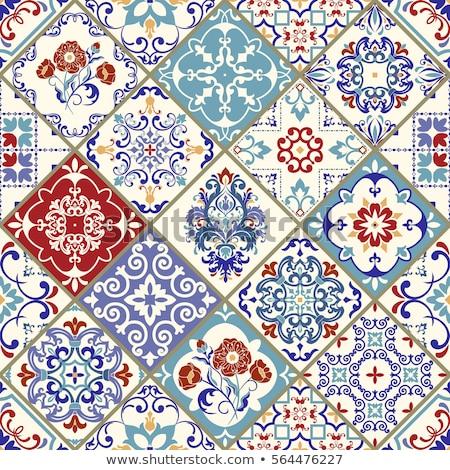 Rood · papier · vector · naadloos · textuur - stockfoto © cosveta