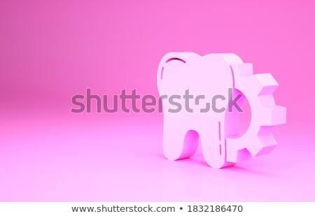 dentista · dente · implantar · vetor · ícone · assinar - foto stock © tefi