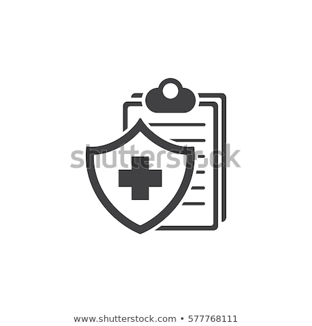 Medical Insurance Icon. Flat Design. Stock photo © WaD