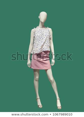 женщины · одежду · манекен · изолированный · белый · женщины - Сток-фото © gsermek