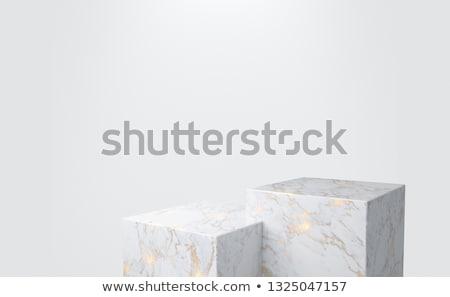 Or cube attribution métal sport gagnant Photo stock © ordogz