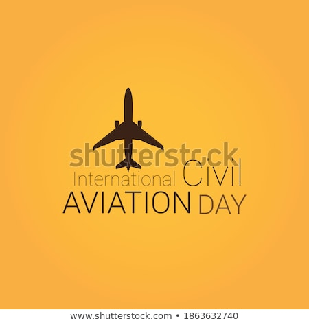airbus civil aviation plane vector stock photo © andrei_