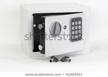 安全 ボックス キー 孤立した ショット ストックフォト © devon