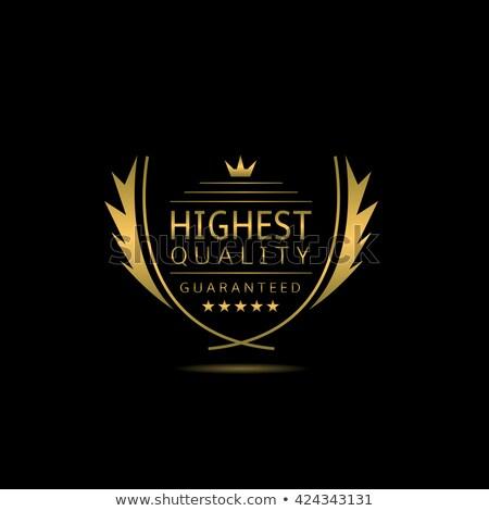 Oro mejor valor ganador laurel corona Foto stock © Krisdog