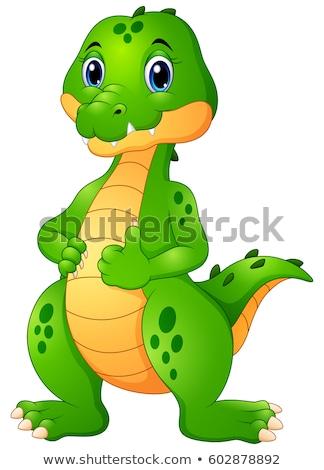 Cartoon Thumbs Up Dragon Stock photo © Krisdog